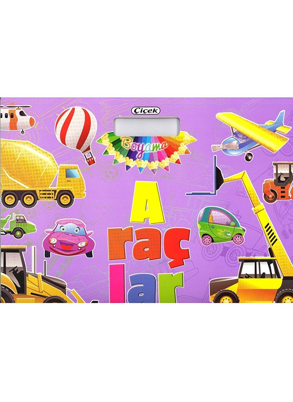çiçek Yayıncılık Standart çanta Boyama Ve çıkartmalar Araçlar Renkli